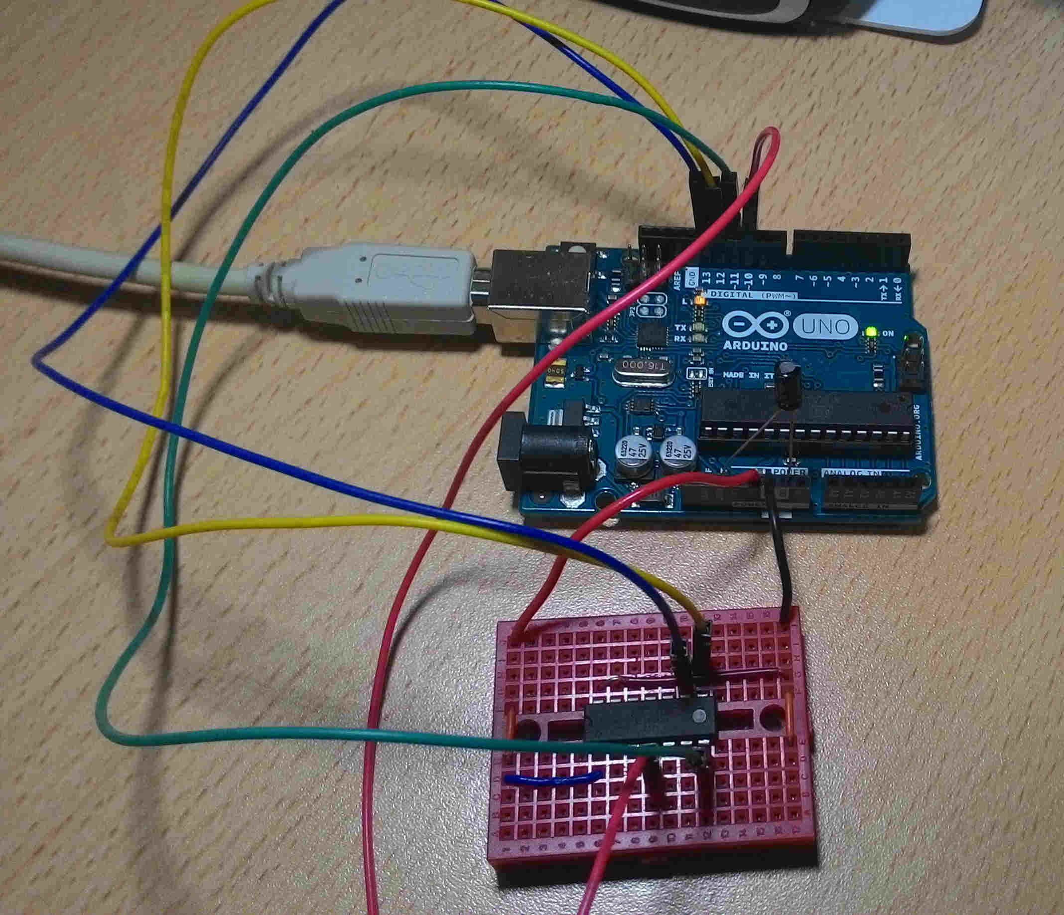 Attiny As Arduino With Eclipse The Impossible Code Attiny2313 Based Lan Cable Tester Schematic